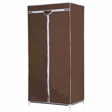 Opvouwbare campingkast met bruine hoes 160 cm kopen