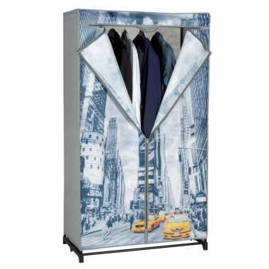 Opvouwbare campingkast met new york hoes 156 cm kopen