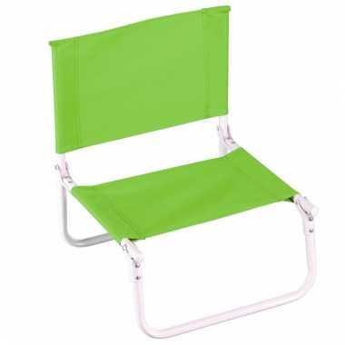 Opvouwbare campingstoel lime kopen