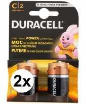 Camping 4 pack duracell batterijen cr14 kopen