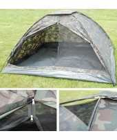 Camping 4 persoons camouflage tent kopen