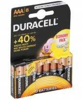 Camping 8x duracell lr03 aaa batterijen kopen