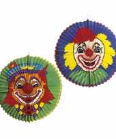 Camping clown lampion jumbo 60 cm kopen