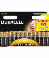Camping duracell lr6 aa batterijen 12 stuks kopen