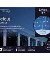 Camping ijspegel verlichting koel wit buiten 119 lampjes kopen