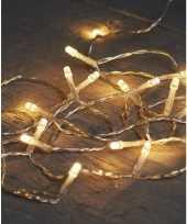 Camping kerstverlichting op batterijen warm wit 10 lampjes 100 cm kopen