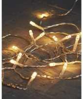 Camping kerstverlichting op batterijen warm wit 40 lampjes 400 cm kopen