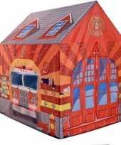 Camping kinderkamer speeltent brandweer 201 cm kopen