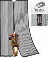 Camping magnetische muggen deur hor gordijn zwart kopen