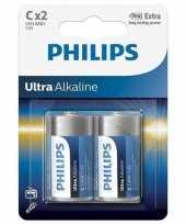 Camping phillips ll batterijen pakket r14 1 5 volt 2 stuks kopen