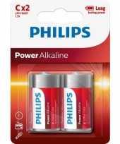 Camping powerlife alkaline lr14 c batterij set kopen