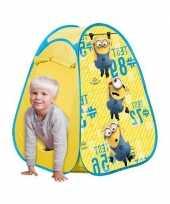 Camping speelgoed tent van minions kopen
