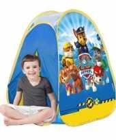 Camping speelgoed tent van paw patrol kopen