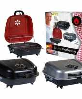 Camping tafel barbecue koffer zwart 41 x 42 cm kopen
