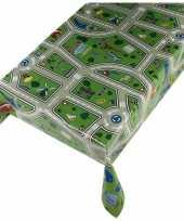 Camping tafellaken kinder speel kleed verkeer motief 140 x 240 cm kopen